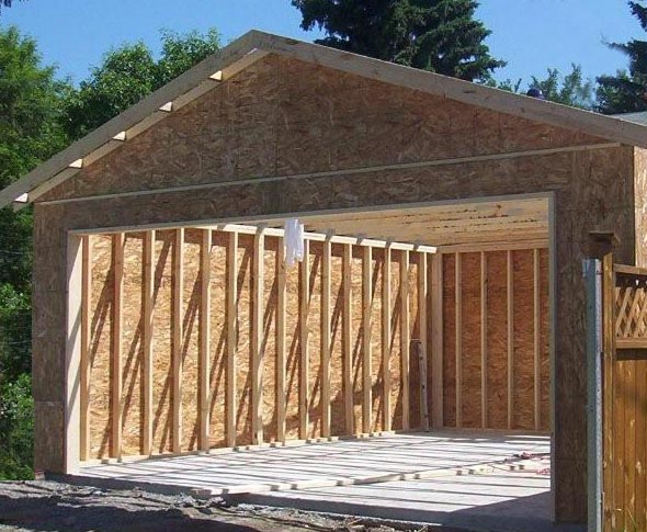 Watch this installation video. All Fab Building Components   Garage   Shed Packages